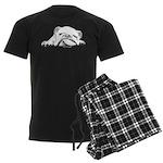 Sleepy Head Men's Dark Pajamas