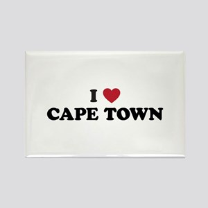 I Love Cape Town Rectangle Magnet