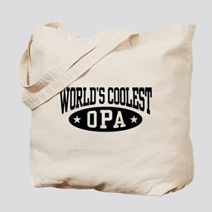 World's Coolest Opa Tote Bag