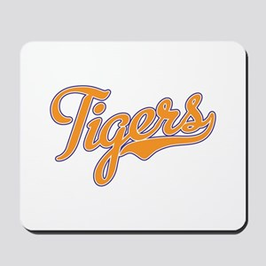 Go Tigers! South Carolina Palmetto Flag Mousepad