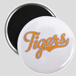 Go Tigers! South Carolina Palmetto Flag Magnet
