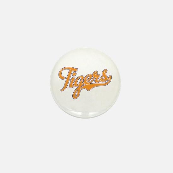 Go Tigers! South Carolina Palmetto Flag Mini Butto