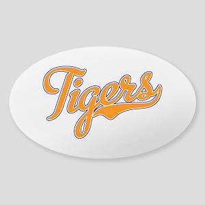 Go Tigers! South Carolina Palmetto Flag Sticker (O