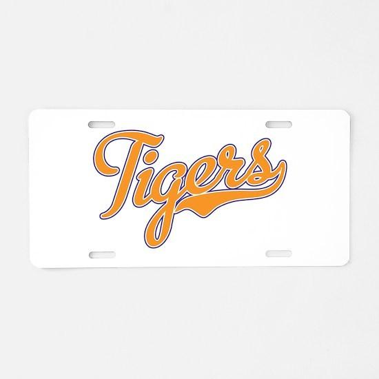 Go Tigers! South Carolina Palmetto Flag Aluminum L