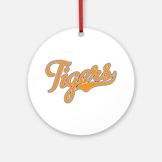 Go Tigers! South Carolina Palmetto Flag Ornament (