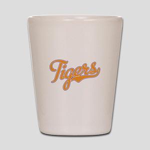 Go Tigers! South Carolina Palmetto Flag Shot Glass