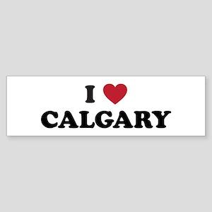 I Love Calgary Sticker (Bumper)
