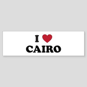 I Love Cairo Sticker (Bumper)