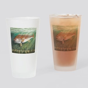 Redfish Drinking Glass