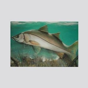 Snook Rectangle Magnet