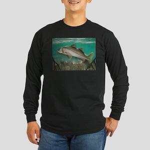 Snook Long Sleeve Dark T-Shirt