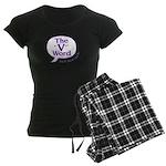 The V Word Logo Women's Dark Pajamas