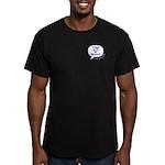 The V Word Logo Men's Fitted T-Shirt (dark)
