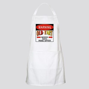 Old Fart BBQ Apron