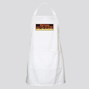 Retired But Still On Fire Apron
