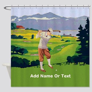 Personalized Golf Vintage Style Highlands Golfing