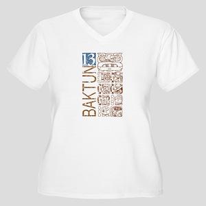 Baktun 13 - Mayan Calendar Glyphs Women's Plus Siz