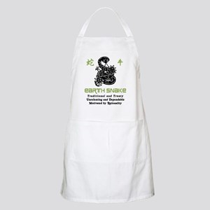 Year of The Earth Snake 1929 1989 Apron