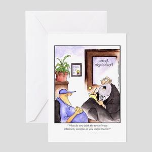GOLF 006 Greeting Card