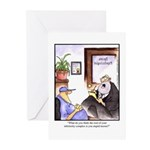 GOLF 006 Greeting Cards (Pk of 10)