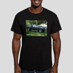 cobra sports car Men's Fitted T-Shirt (dark)