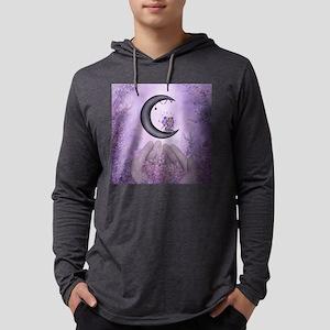 Wonderful fairy on the moon Mens Hooded Shirt