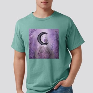 Wonderful fairy on the moon Mens Comfort Colors Sh