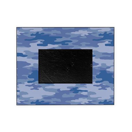 Camo Blue Picture Frame