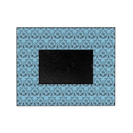 Flourish Romantic Blue Picture Frame