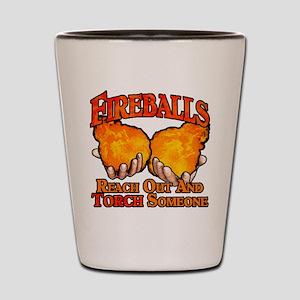 Fireballs Shot Glass