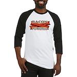 Bacon Powered Baseball Jersey