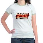 Bacon Powered Jr. Ringer T-Shirt