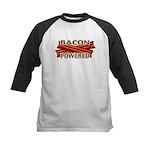 Bacon Powered Kids Baseball Jersey