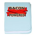Bacon Powered baby blanket