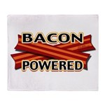 Bacon Powered Throw Blanket