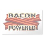 Bacon Powered Sticker (Rectangle)