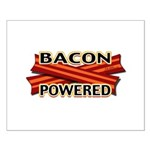 Bacon Powered Small Poster
