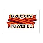 Bacon Powered Mini Poster Print