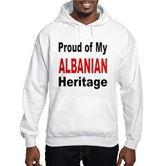 Proud Albanian Heritage Hoodie