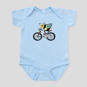 Bee on a Bike Infant Bodysuit