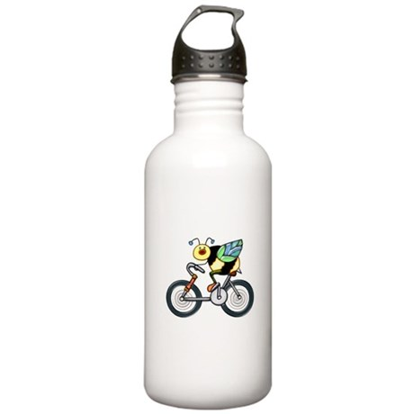 Bee on a Bike Stainless Water Bottle 1.0L