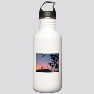 Winter Rose Stainless Water Bottle 1.0L