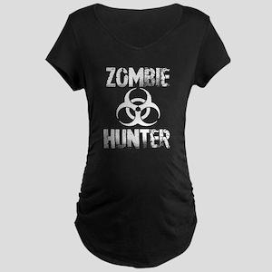 Zombie Hunter 1a cp Maternity Dark T-Shirt