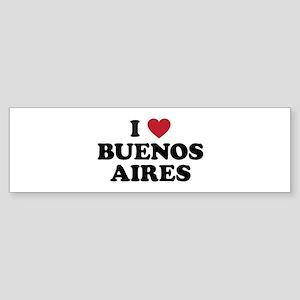 I Love Buenos Aires Sticker (Bumper)