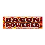 Bacon Powered 20x6 Wall Decal