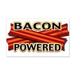 Bacon Powered 20x12 Wall Decal