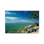 Mogollon Rim Overlook Rectangle Magnet (10 pack)