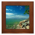 Mogollon Rim Overlook Framed Tile