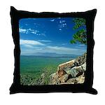 Mogollon Rim Overlook Throw Pillow