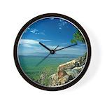 Mogollon Rim Overlook Wall Clock